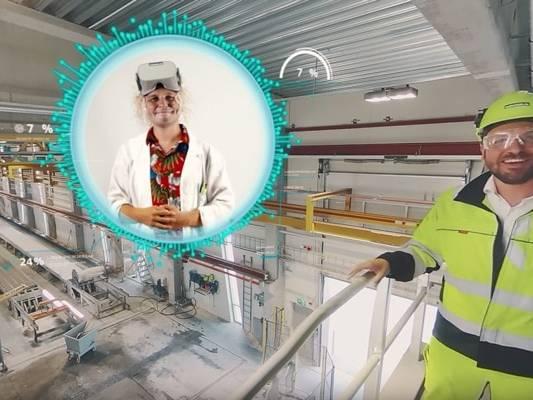 Industrie Réalité Virtuelle Consolis