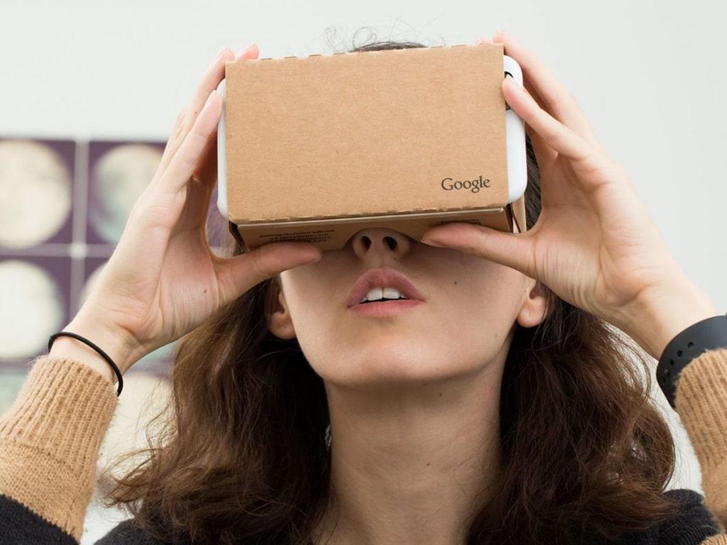 carboard réalité virtuelle personnalisé