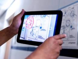 Application réalité augmentée mobile et tablette