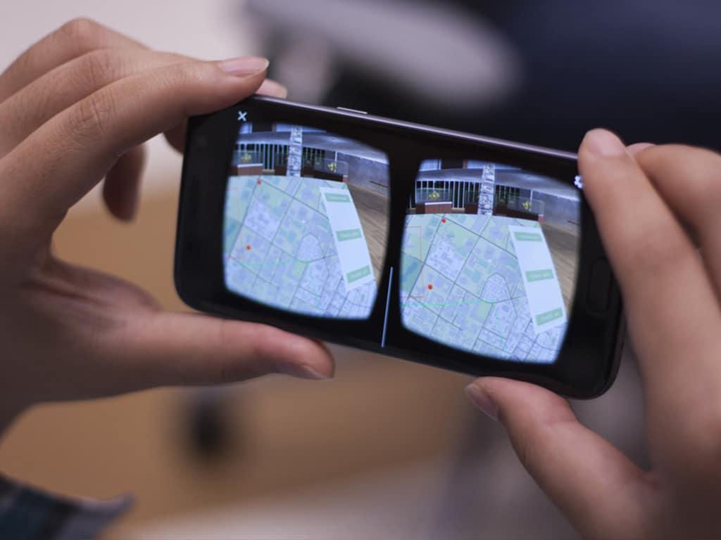 réalité virtuelle mobile