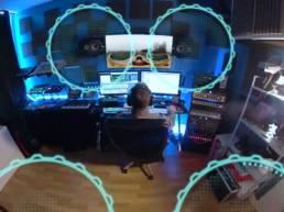 Son spatialisé vidéo 360