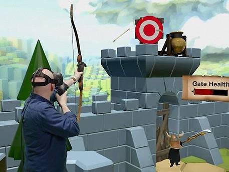 Animation Arcade Réalité Virtuelle