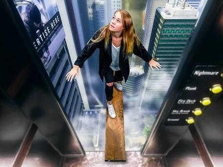 Animation réalité virtuelle jeu de la planche