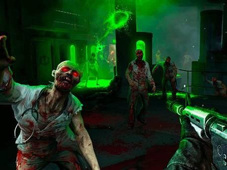 Animation réalité virtuelle jeu d'horreur