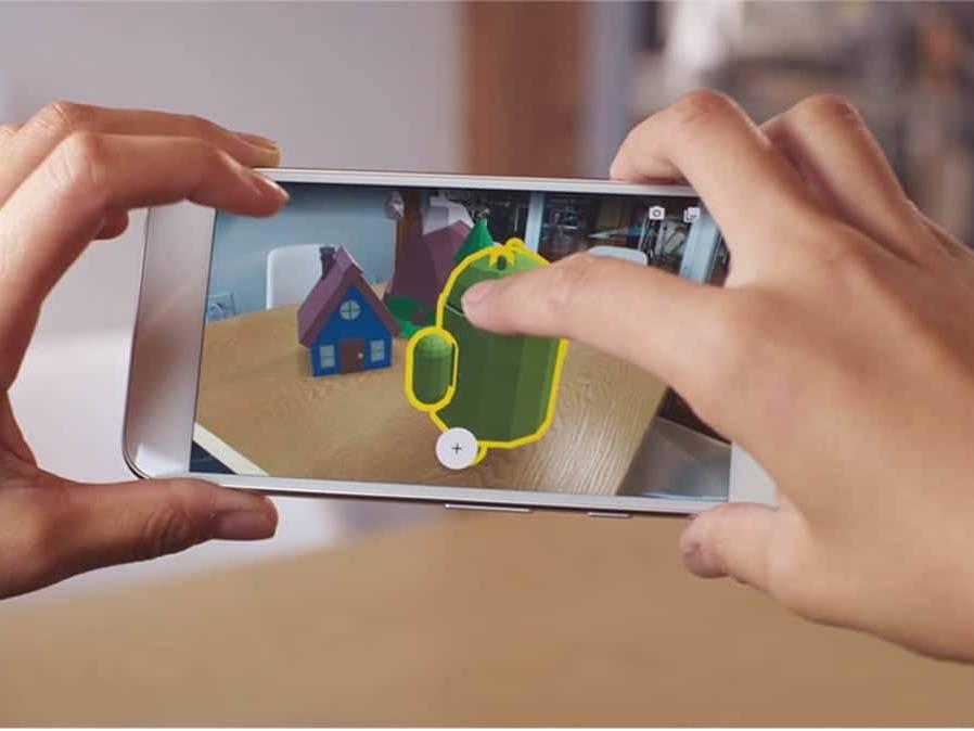 application réalité augmentée ARcore android