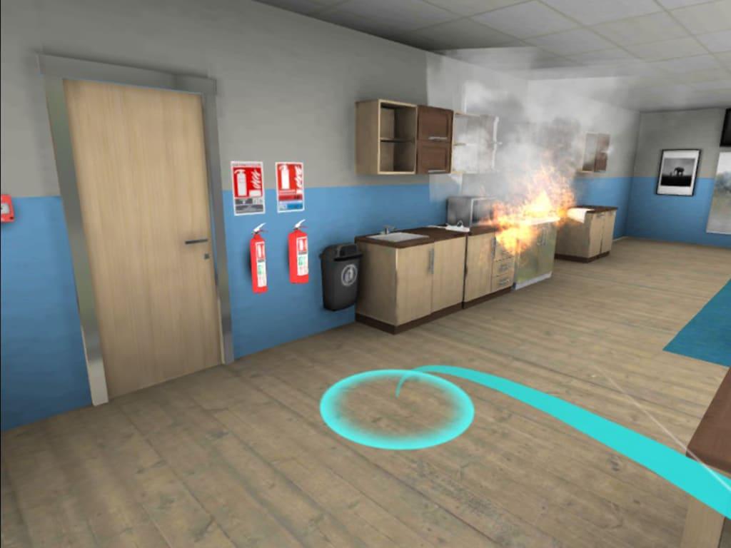 Déplacement réalité virtuelle