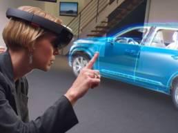 Projection objet 3D réalité augmentée