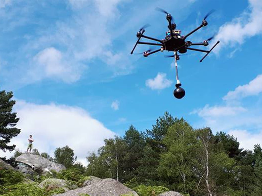 Tournage Drone