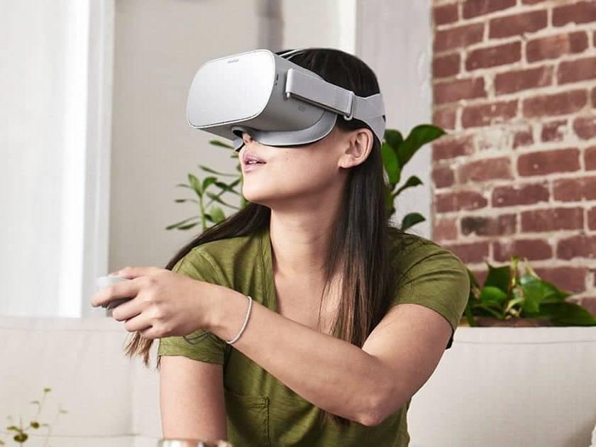 Vidéo 360 en casque de réalité virtuelle oculus Go